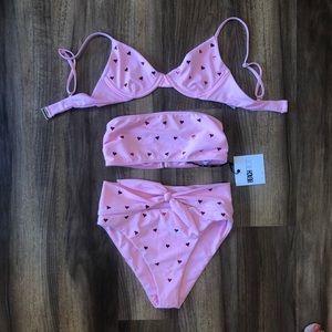 Beach Riot Hearts Bikini